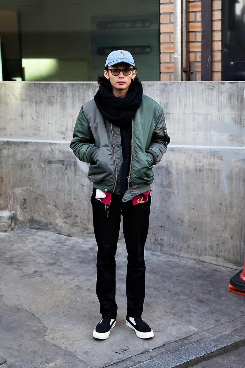 Masaii, Street style men winter 2017 in seoul