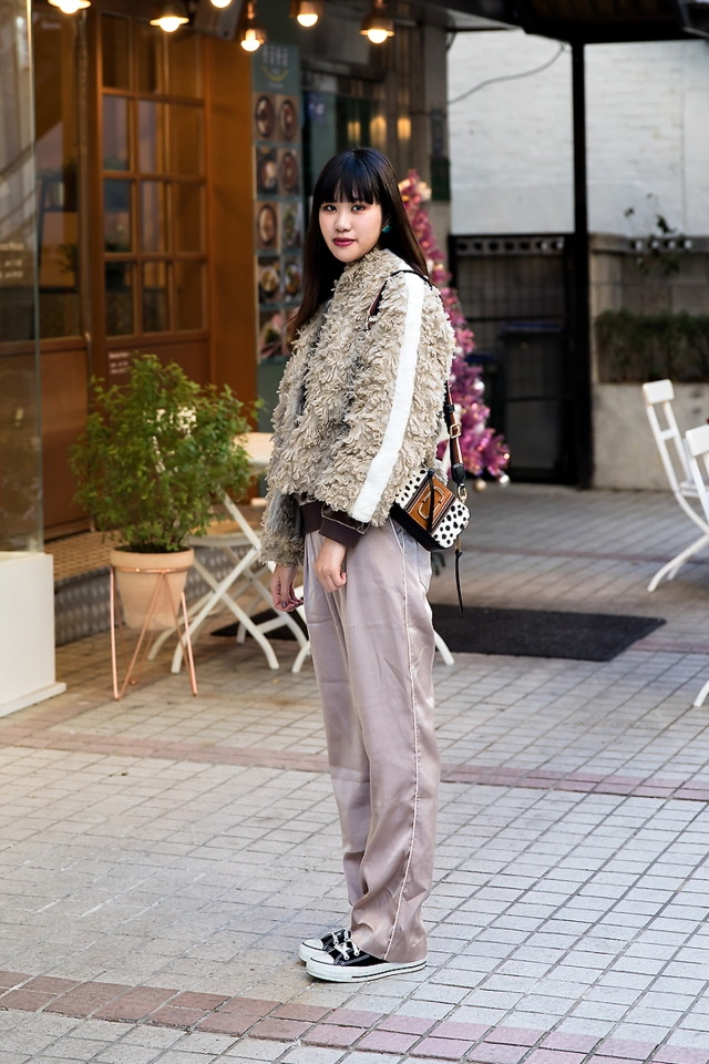Michi, Street style women winter 2017 inseoul