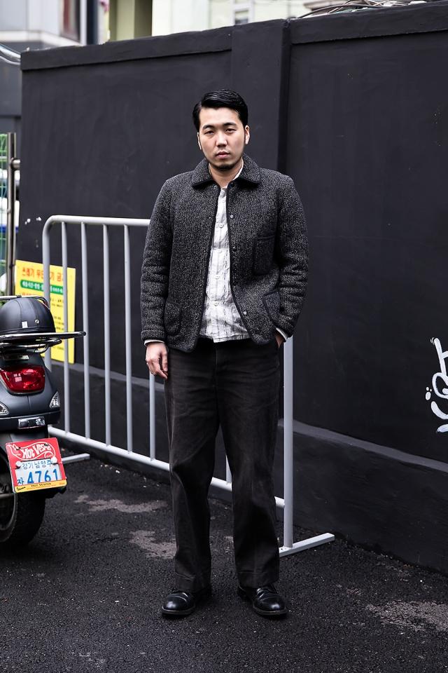 Na Kiju, Street style men fall 2017 inseoul