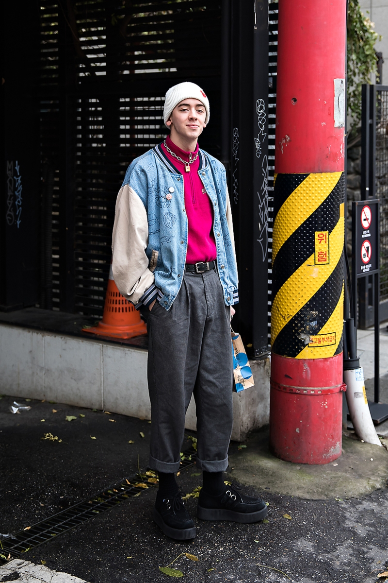 Nico, Street style men winter 2017 in seoul