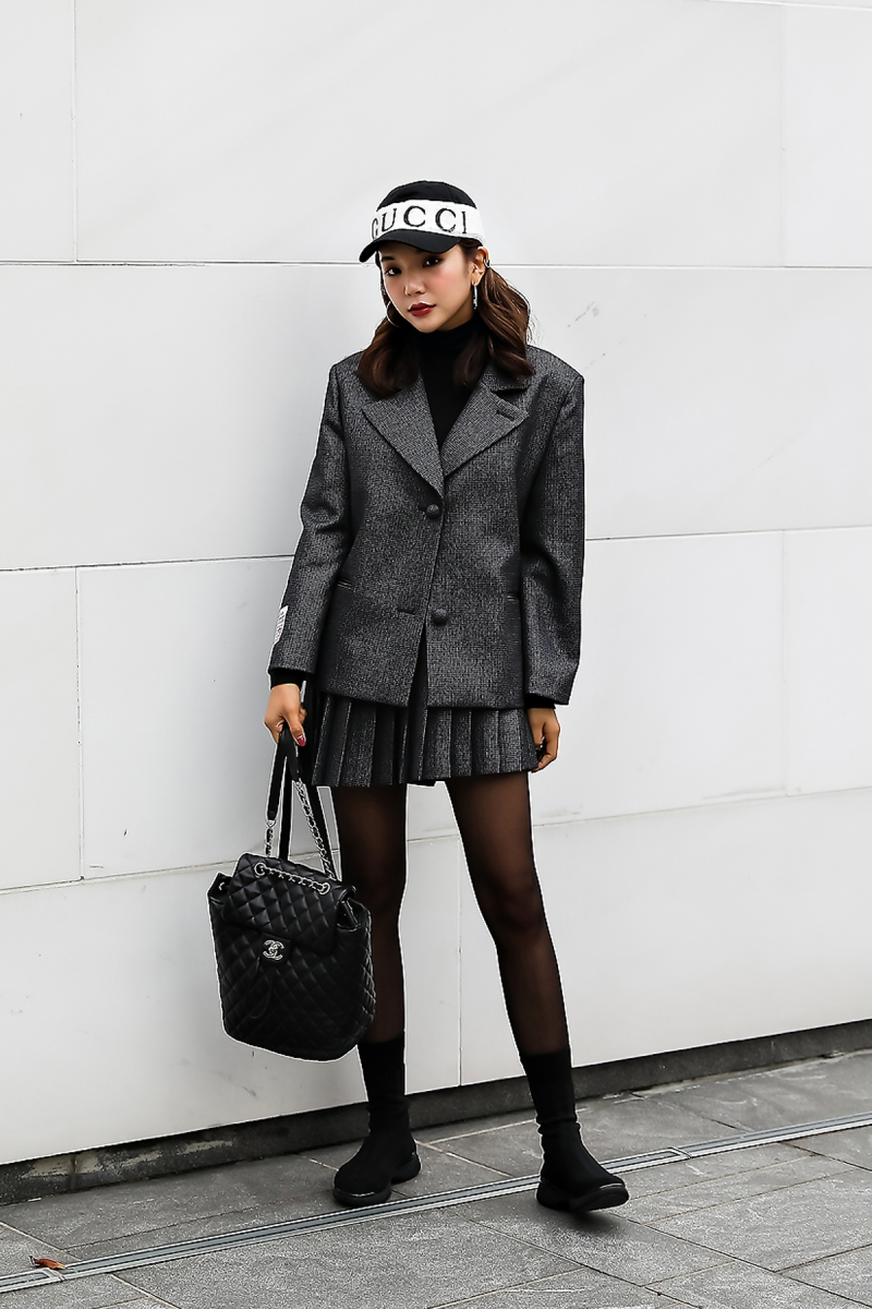 Seo Yeonsoo, Street style women winter 2017 inseoul
