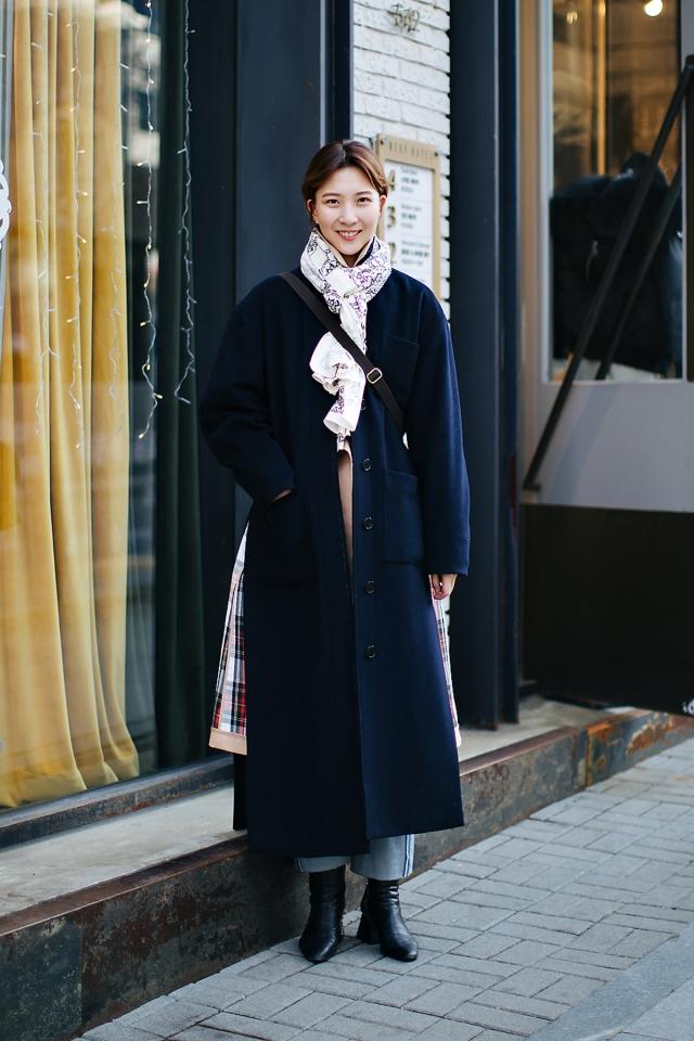 Shin Hyeji, Street style women winter 2017-2018 inseoul