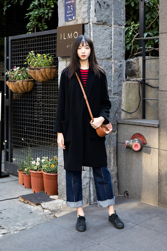Son Jimin, Street style women winter 2017 in seoul
