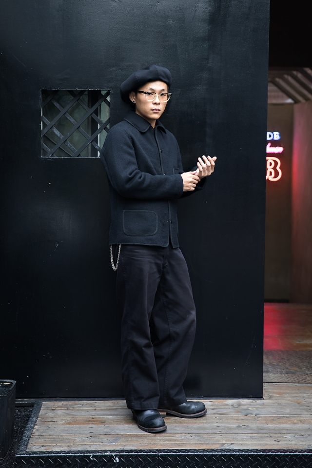 Son Sunwook, Street style men fall 2017 inseoul
