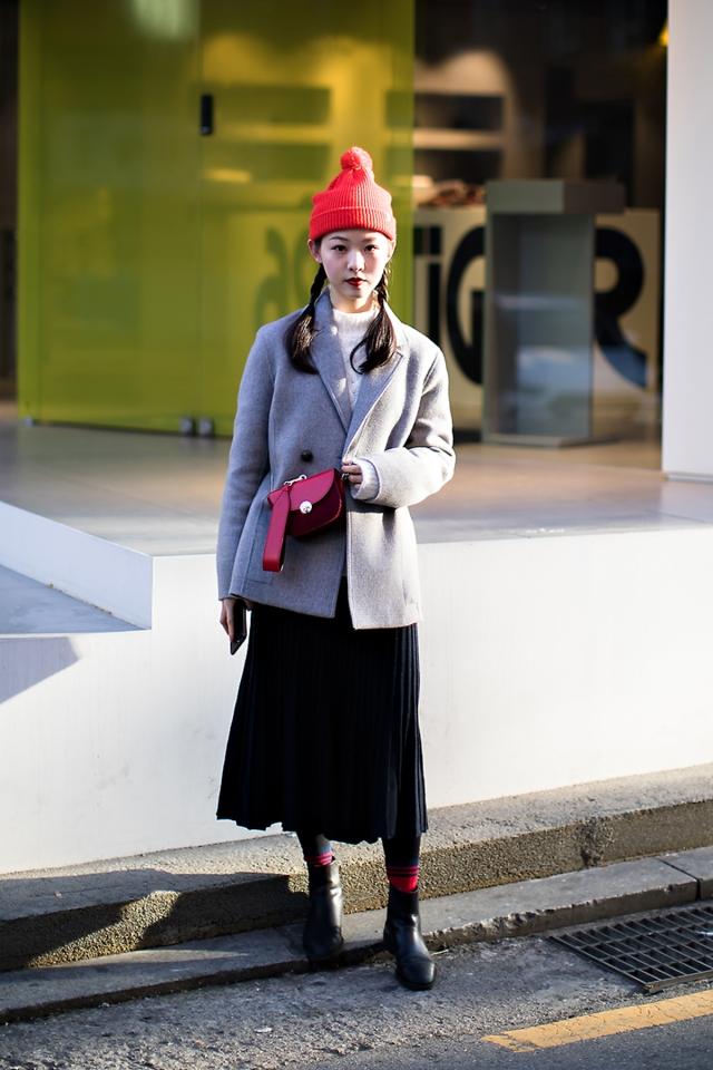 Wang Sungmong, Street style women winter 2017-2018 inseoul
