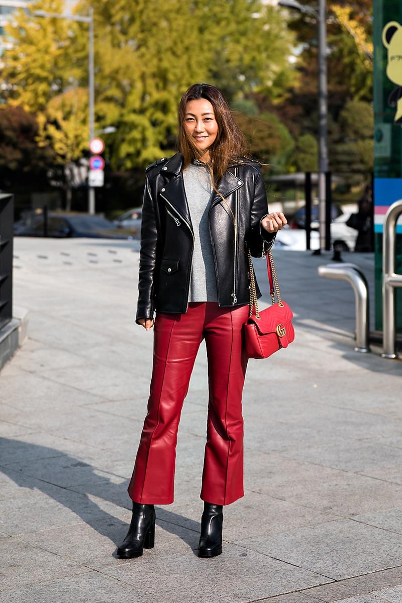 Yoo Hyeyoung, Street style women winter 2017 inseoul