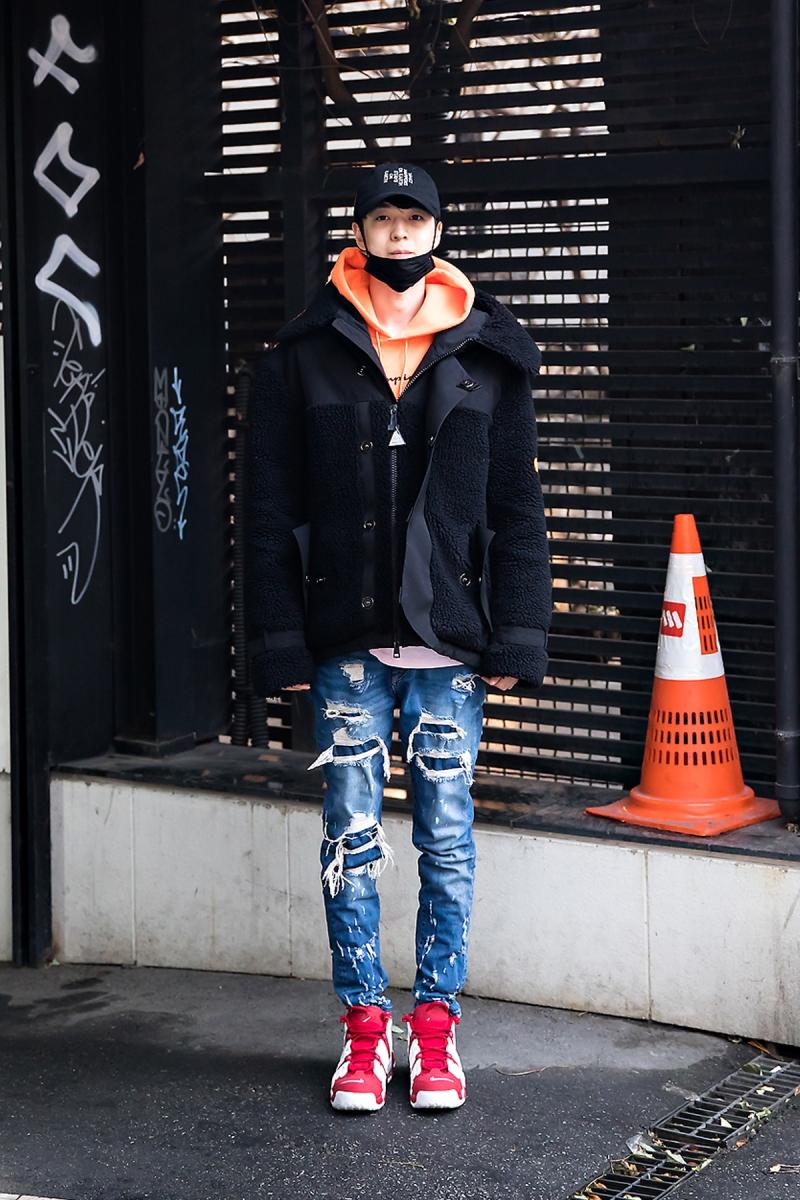 Yoo Jewook, Street style men winter 2017-2018 inseoul