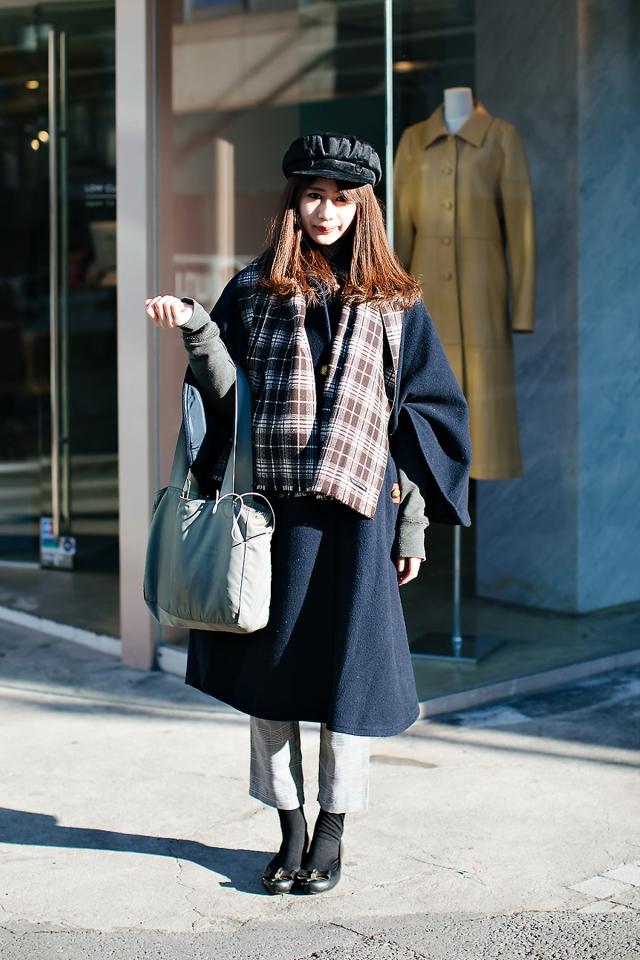 Yukimi, Street style women winter 2017-2018 inseoul