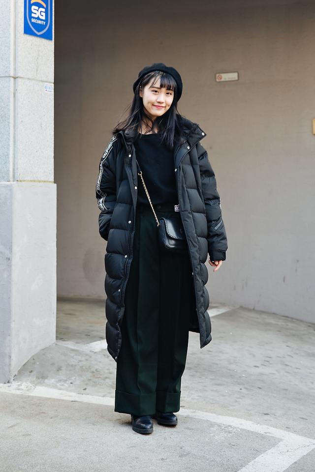 Cynthia, Street style women winter 2017-2018 inseoul