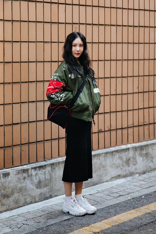 Hwang Taekyung, Street style women winter 2017-2018 inseoul