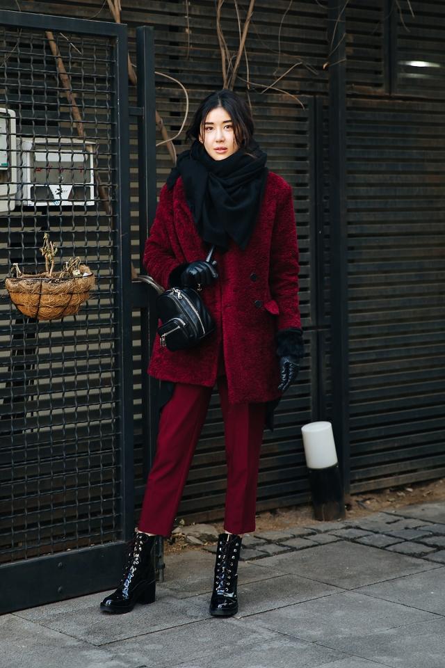 Im Julri, Street style women winter 2017-2018 inseoul