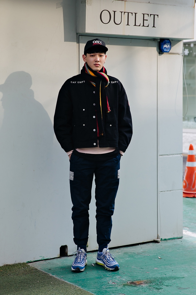 Jung Sooyoung, Street style men winter 2017-2018 in seoul
