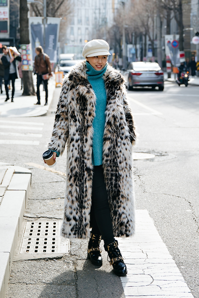 Kim Heewon, Street style women winter 2017-2018 inseoul