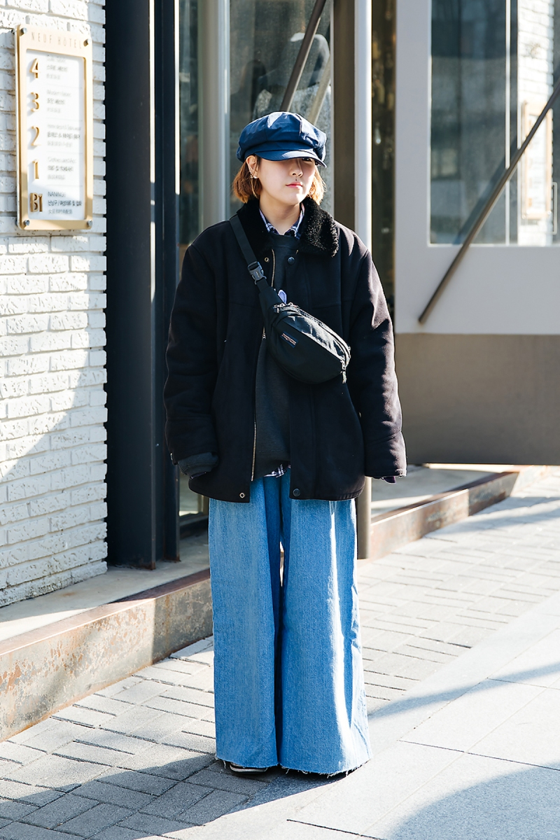 Lee Daeun, Street style women winter 2017-2018 inseoul