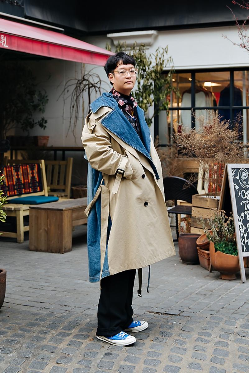 Lee Jun, Street style men winter 2017-2018 inseoul
