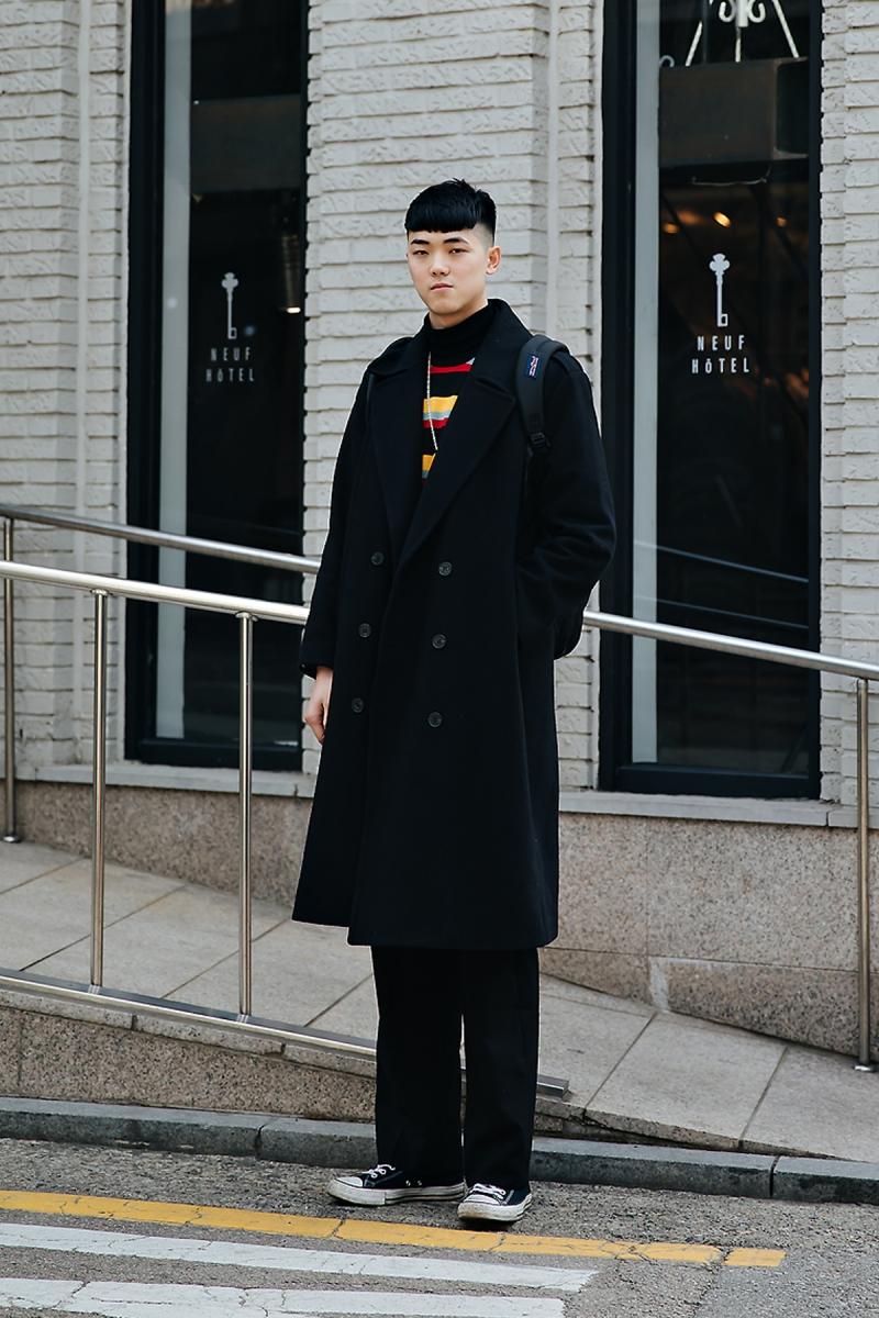 Lee Seungki, Street style men winter 2017-2018 inseoul