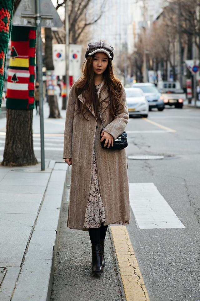 Michelle, Street style women winter 2017-2018 inseoul