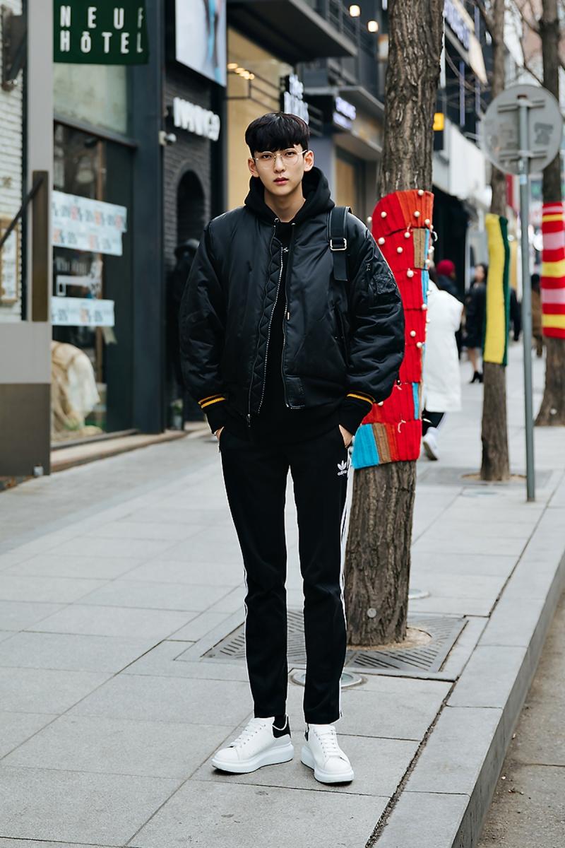 Moon Kanghyuk, Street style men winter 2017-2018 inseoul