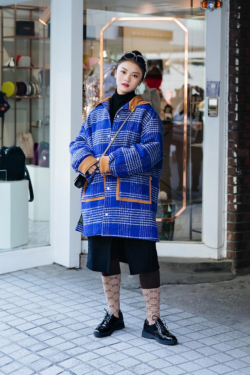 moyoxy, Street style women winter 2017-2018 inseoul