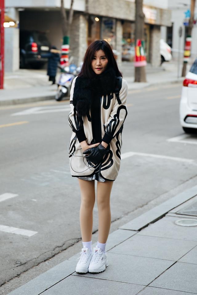 Muya, Street style women winter 2017-2018 inseoul