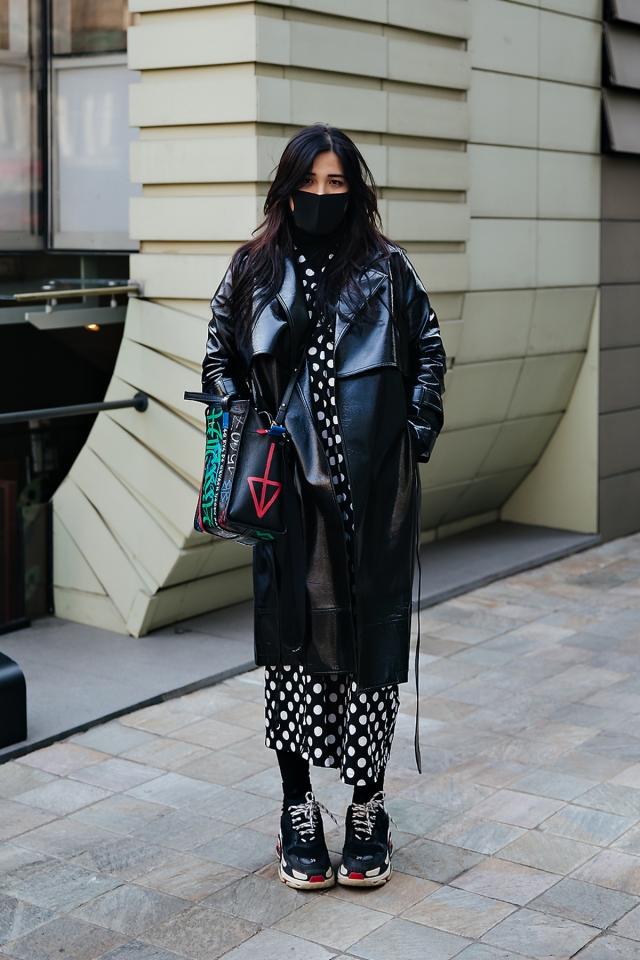 Nini, Street style women winter 2017-2018 inseoul