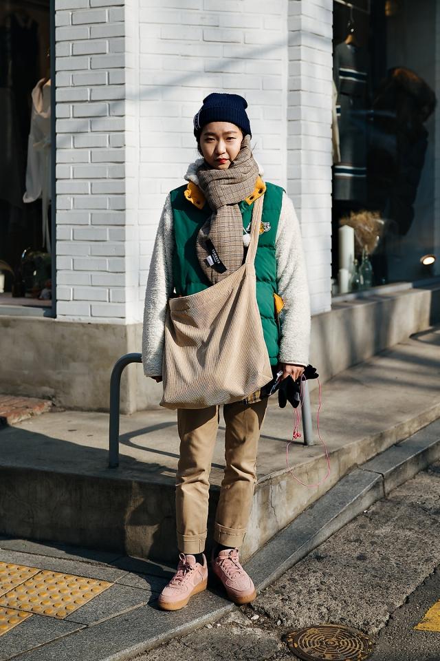 Park Sunho, Street style women winter 2017-2018 inseoul