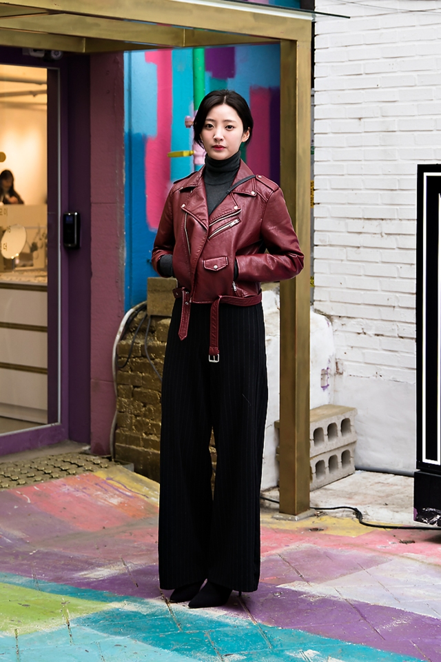 Um Heeram, Street style women winter 2017-2018 inseoul
