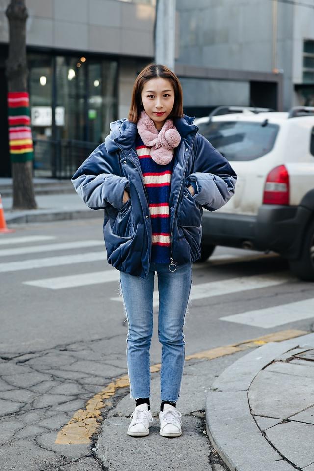 Zoe, Street style women winter 2017-2018 inseoul