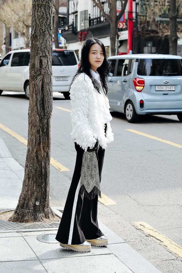 Cho Yoonkyung, Street style women spring 2018 in seoul