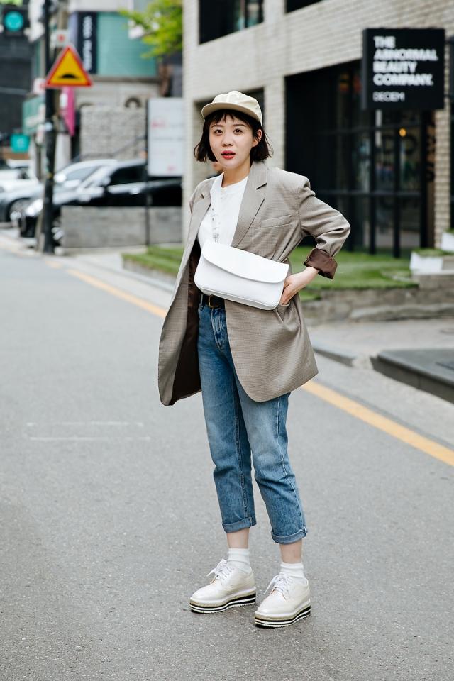 Choi Mira, Street style women spring 2018 in seoul