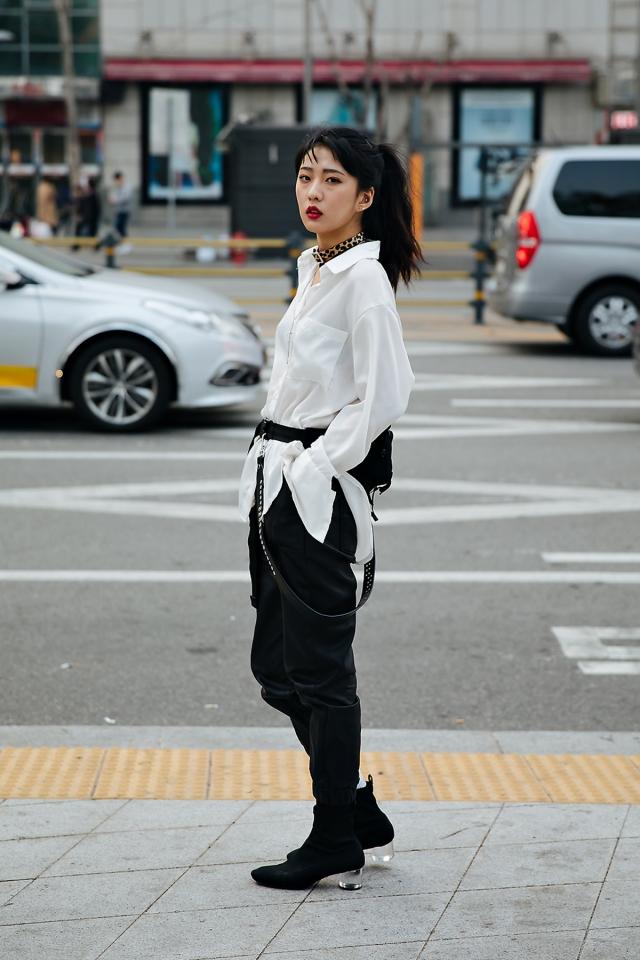 Han Minju, SEOUL FASHION WEEK STREETWEAR WOMENS 2018FW