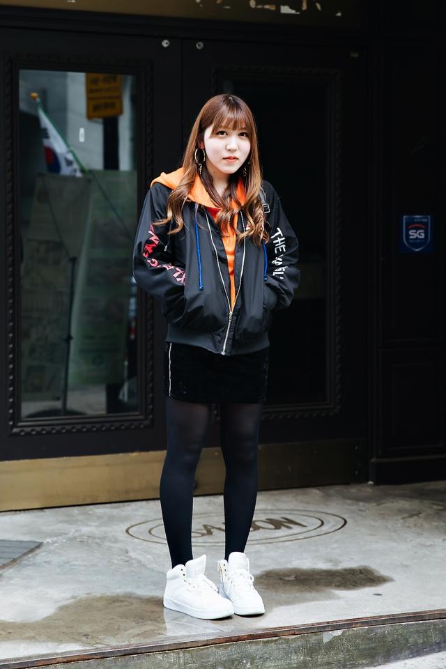 Hazuki, Street style women spring 2018 in seoul