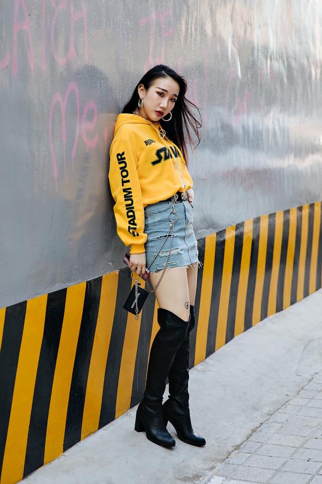 Kang Yulrin, Street style women spring 2018 in seoul