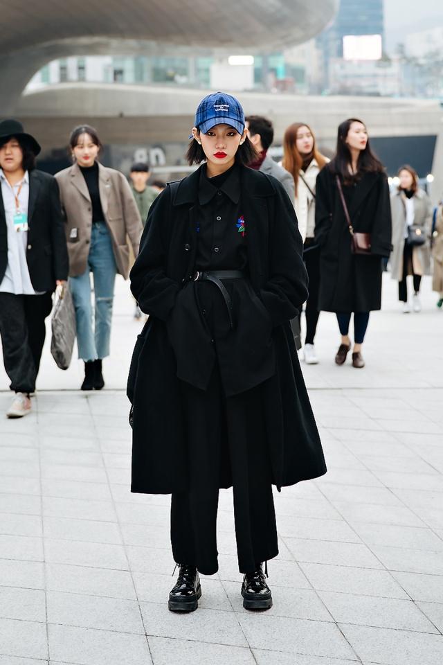 Kim Bomi, SEOUL FASHION WEEK STREETWEAR WOMENS 2018FW
