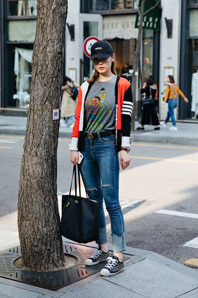 Kim Chojung, Street style women spring 2018 in seoul