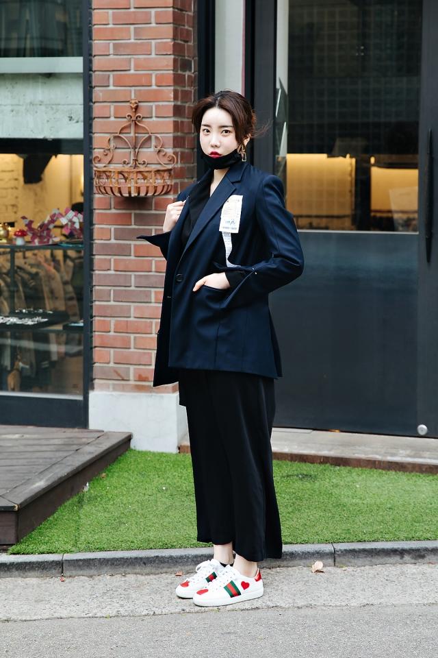 Kim Haeun, Street style women spring 2018 in seoul