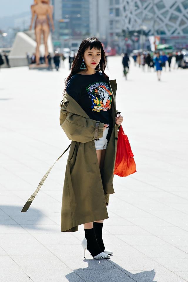 Kim Mirae, SEOUL FASHION WEEK STREETWEAR WOMENS 2018FW