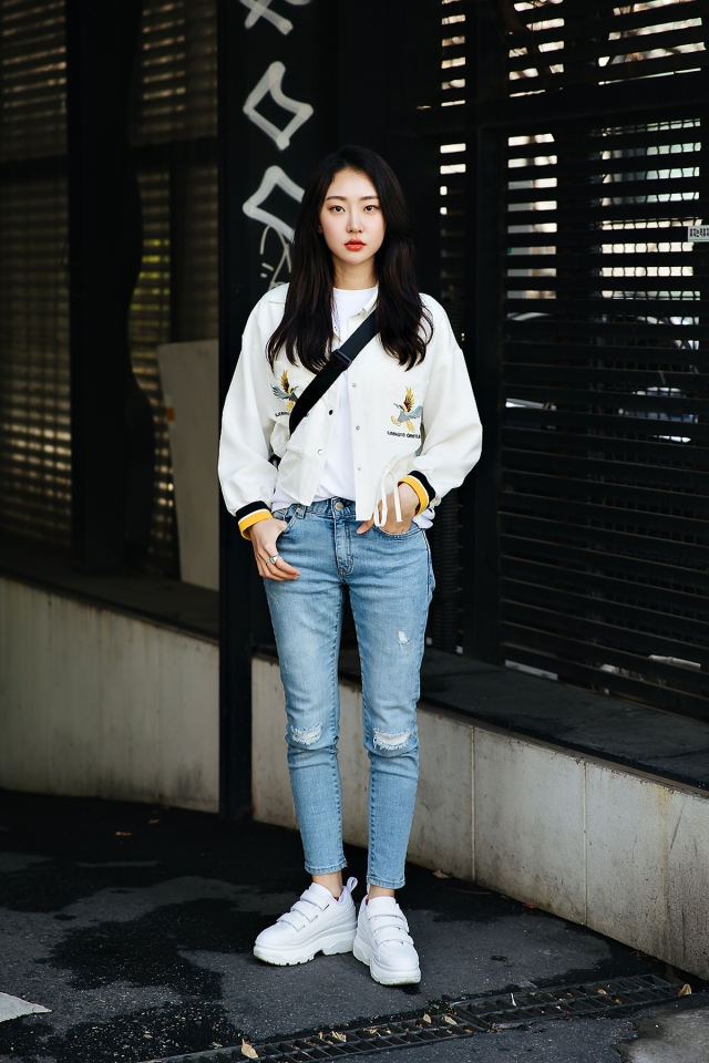 Kim Sunhee, Street style women spring 2018 in seoul