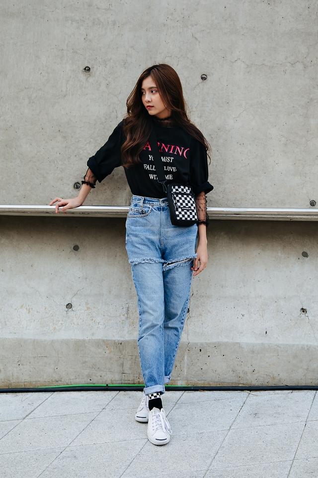 Kim Yuna, SEOUL FASHION WEEK STREETWEAR WOMENS 2018FW