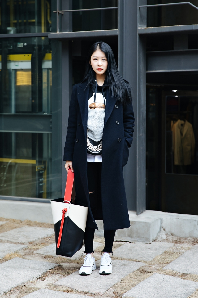 Lee Jinsoo, Street style women winter 2017-2018 in seoul