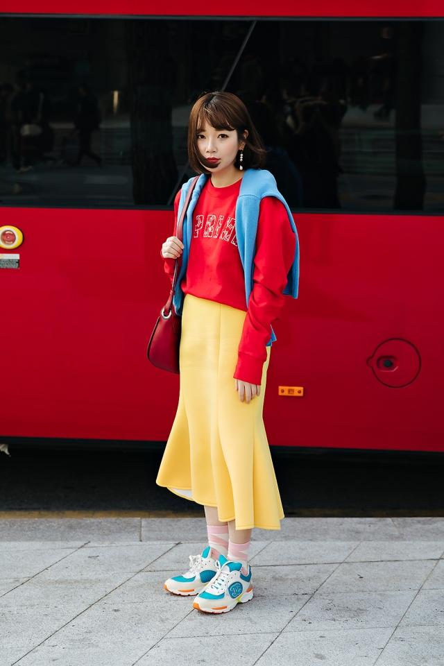 Lee Juhee, SEOUL FASHION WEEK STREETWEAR WOMENS 2018FW
