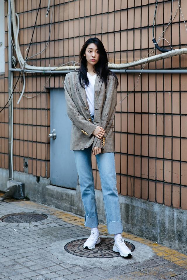 Lee Seobin, Street style women spring 2018 in seoul