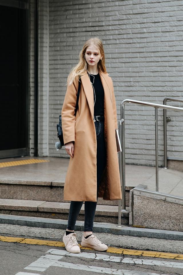 lena, Street style women winter 2017-2018 inseoul
