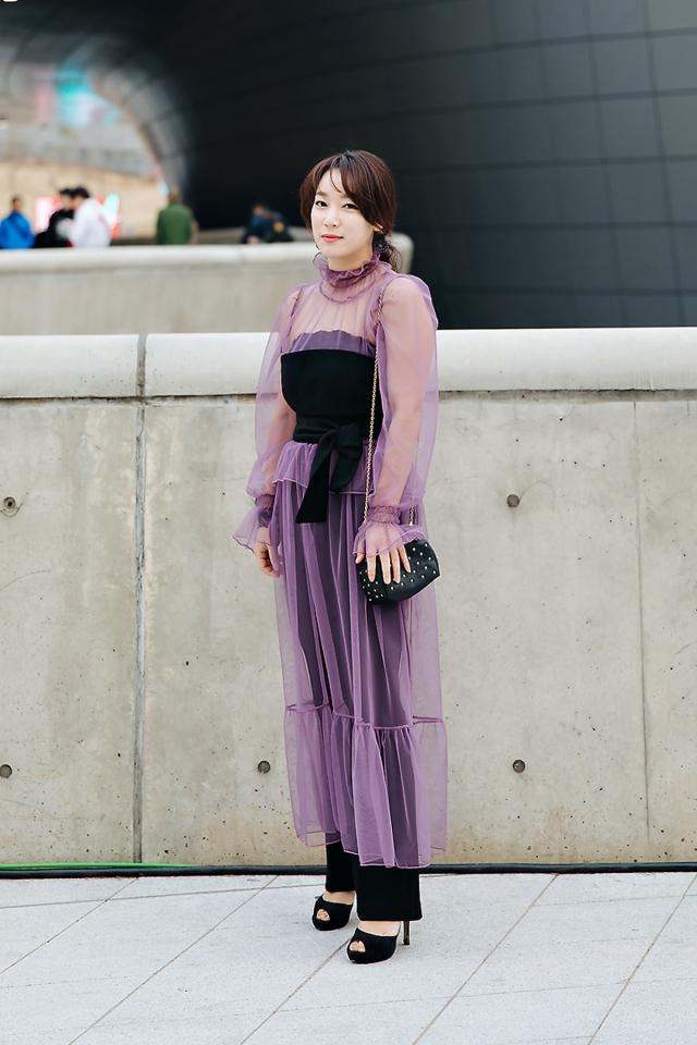 Min Boram, SEOUL FASHION WEEK STREETWEAR WOMENS 2018FW