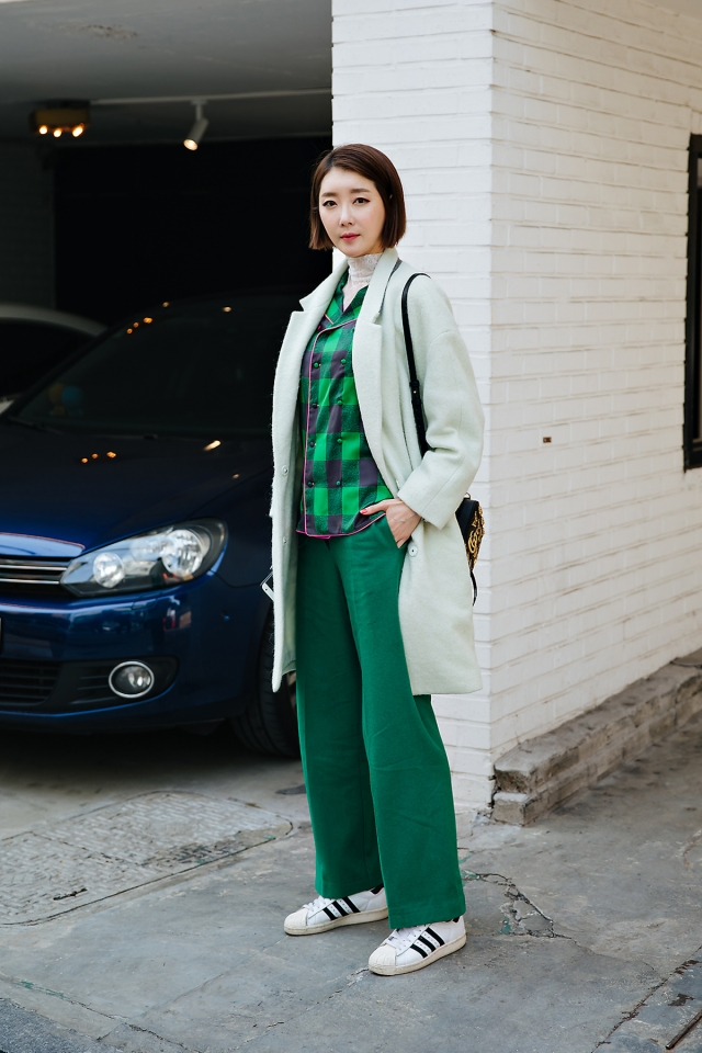 Oh Youngmi, Street style women spring 2018 in seoul