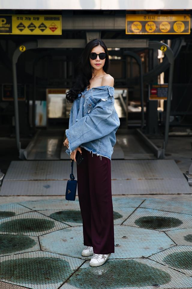 Park Hana, Street style women spring 2018 in seoul