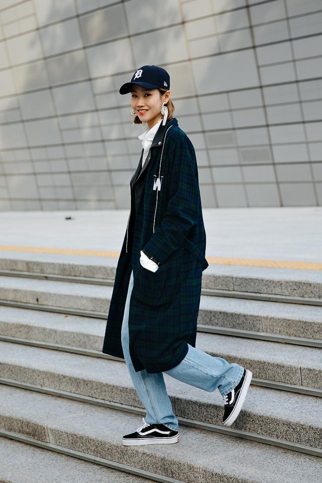 Park Jiae, SEOUL FASHION WEEK STREETWEAR WOMENS 2018FW