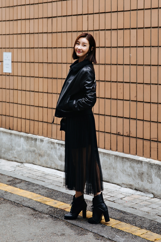 Park Minjung, Street style women spring 2018 in seoul