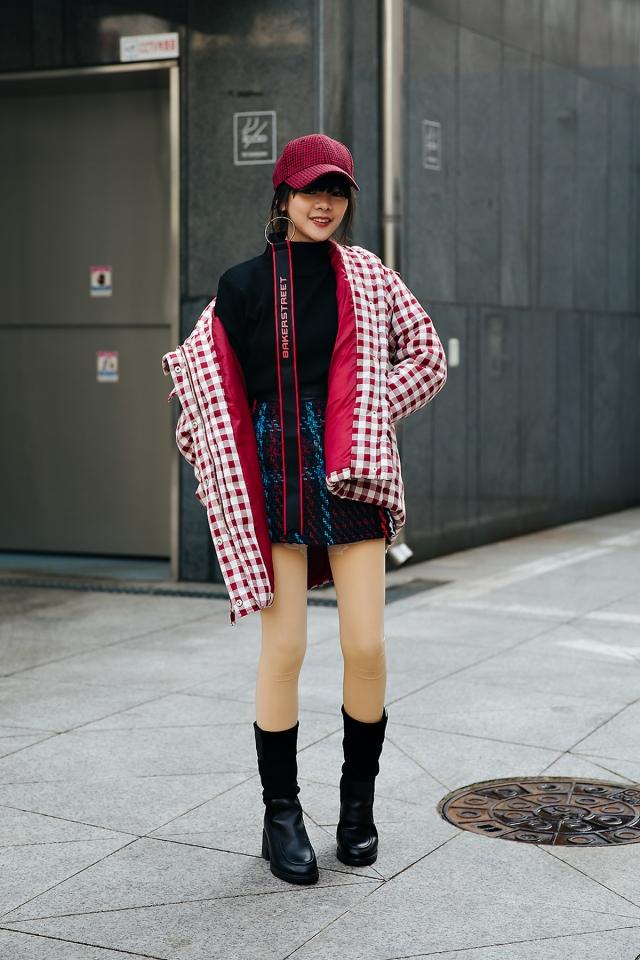 Runchida, Street style women winter 2017-2018 inseoul
