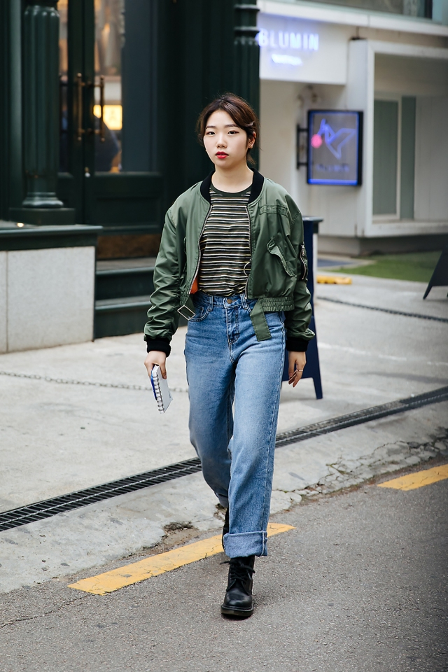 Seo Woojung, Street style women spring 2018 in seoul